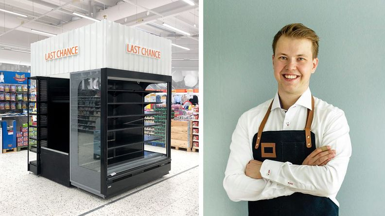 K-Citymarket Riihimäki last chance hävikkihylly