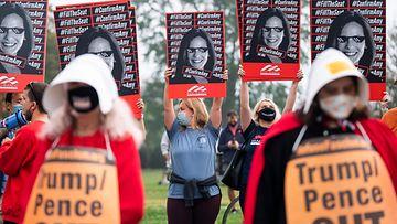 Barrett mielenosoitus korkein oikeus abortti EPA