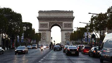 riemukaari AOP ranska pariisi