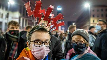 puola abortti mielenosoitus LK