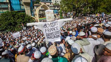 AOP Bangladesh mielenosoitus