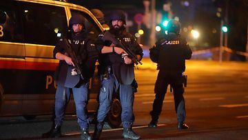 Wien poliisi terroriteko isku