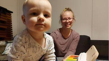 paula halme ja vauva