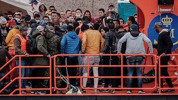AOP Kanariansaaret, pakolaiset