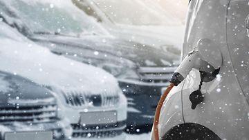 aop sähköauto talvi