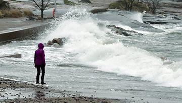 LK Liisa-myrsky, meri, Helsinki