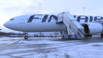 OMA: Finnair, lentokone, 2