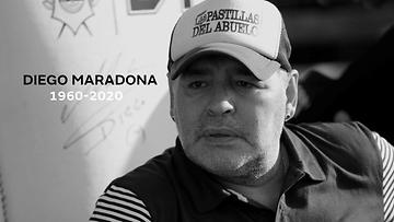 Maradona-kuollut