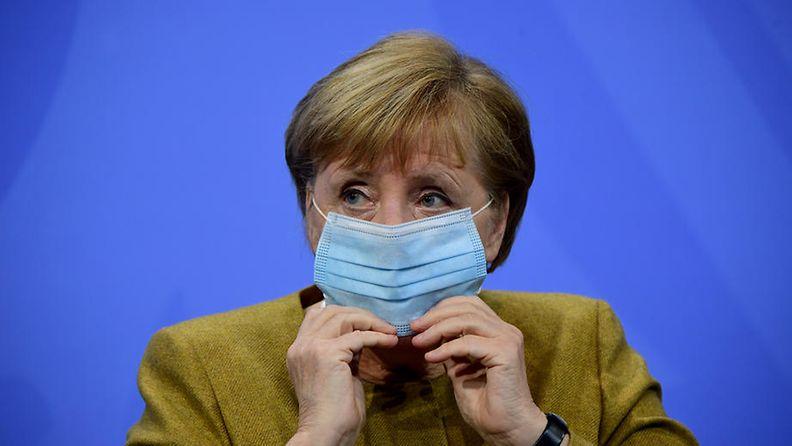 EPA Angela Merkel Saksa