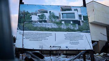 OMA, ÄLÄ KÄYTÄ MUISSA JUTUISSA: Haikoonlammentien rakennustyömaa