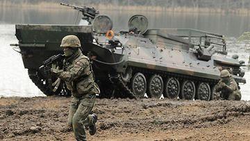 AOP Nato, harjoitus