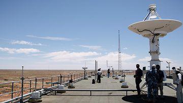 LK Australian ilmavoimien sotilasalue Woomerassa Etelä-Australiassa, joulukuu 2020