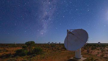 ASKAP -radioteleskooppi AOP