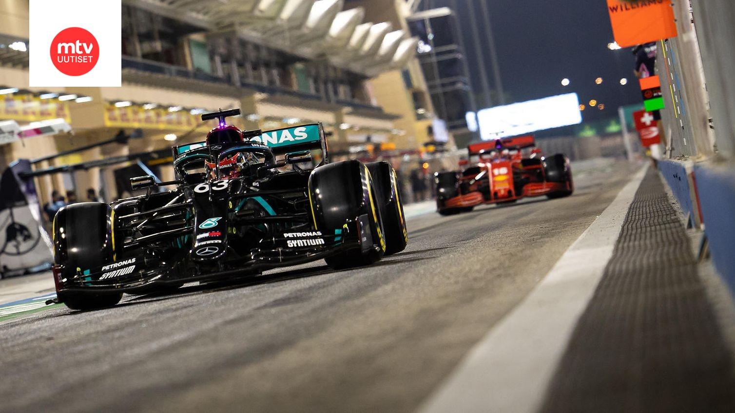 F1 Lähtöjärjestys