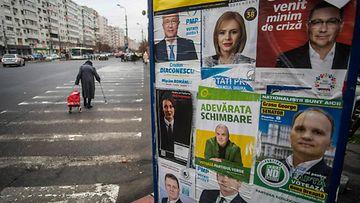 LK Bukarest, Romania, parlamenttivaalit, ehdokkaita 3.12.2020
