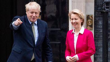AOP Boris Johnson, Ursula von der Leyen