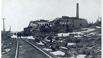 AOP Halifax, Kanada, räjähdys