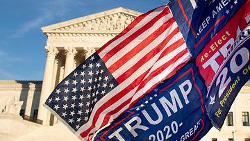 AOP trump vaalit texas korkein oikeus yhdysvallat
