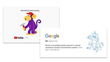 mtv google häiriö