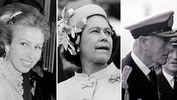 prinsessa Anne kuningatar Elisabet lordi Mountbatten