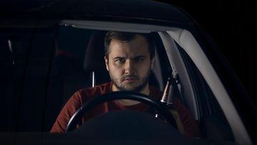 shutterstock väsymys auto kuljettaja