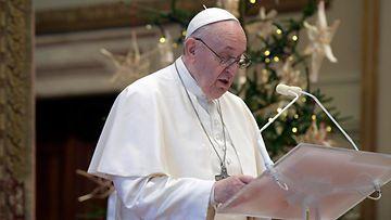 AOP Paavi joulupuhe 2020