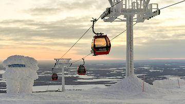 AOP Ylläs, hiihtokeskus, hiihtohissi, Lappi