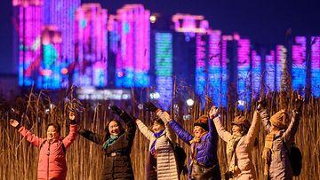 Vuosi 2021 vaihtui Kiinan Wuhanissa