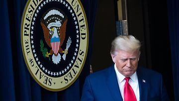 LK 1.1.2021 Yhdysvaltain väistyvä presidentti Donald Trump