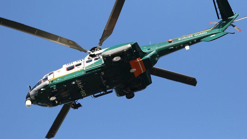AOP helikopteri, rajavartiolaitos