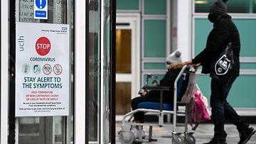 AOP korona lontoo britannia sairaala