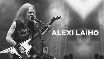 Children of Bodom -yhtyeen kitaristi Alexi Laiho.