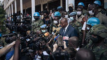 LK 050121 keski-afrikka presidentti vaalit faustin archange touadera