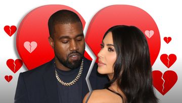 Kim Kardashian ja Kanye West Ero