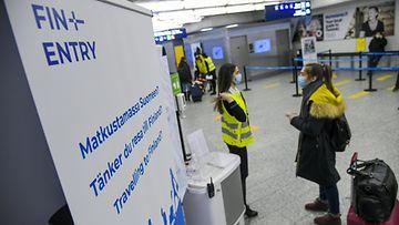 Lk 070121 finentry korona matkailu lentokenttä rajat