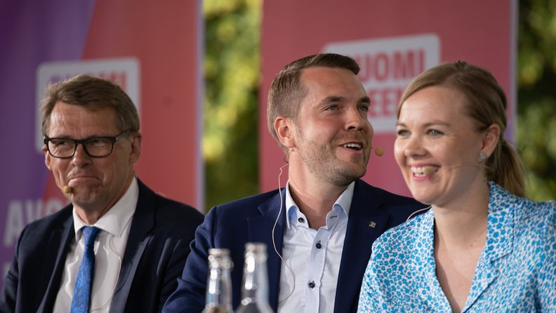 SuomiAreena Vanhanen Kulmuni