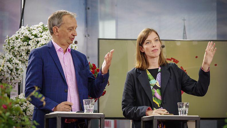Harkimo ja Andersson Puheenjohtajatentti ti 2019 ©Antti Partanen (25)