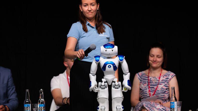 SuomiAreena robotti