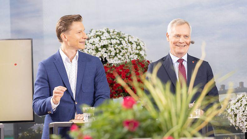 Häkkänen ja Rinne Puheenjohtajatentti ti 2019 ©Juha-Matti Tenhunen (7)