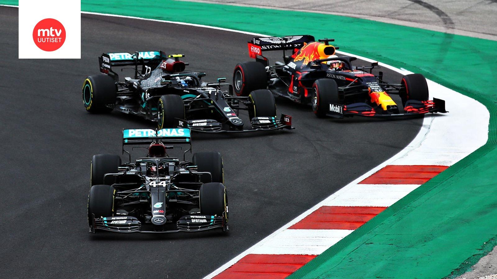 F1 Kisakalenteri 2021
