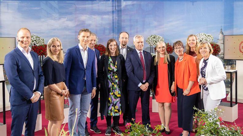 Puheenjohtajatentti ti 2019 ©Juha-Matti Tenhunen