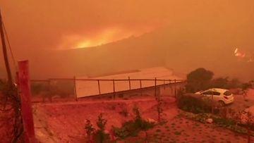 Reuters Chile maastopalo