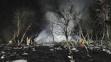 OMA: Norja, mökkipalo