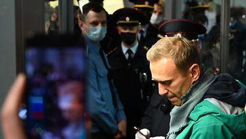 17.1.2021 Navalnyi pidätys