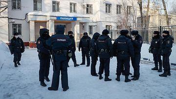 AOP Aleksei Navalnyi Venäjä vankila pidätys Himkin poliisiasema