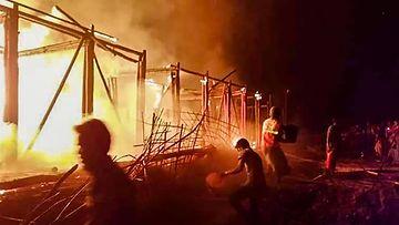 LK1901 Bangladesh tulipalo