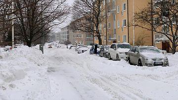 mtv orioninkatu helsinki pysäköinti talviautoilu
