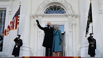 LK Joe ja Jill Biden