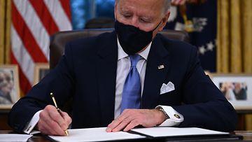 LK Joe Biden presidentti