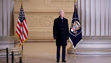 LK 210121 Joe Biden presidentti